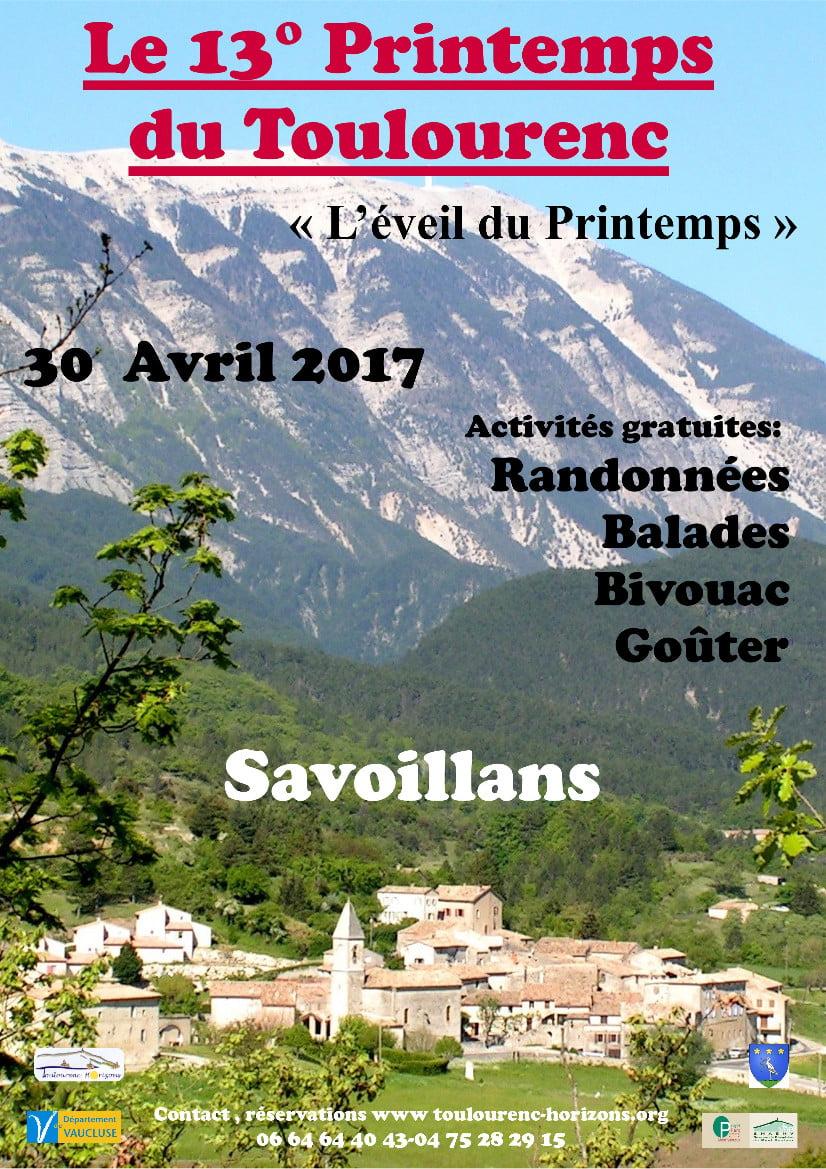 Printemps du Toulourenc